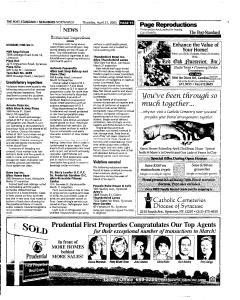 Syracuse Post Standard, April 21, 2005, Page 177