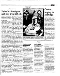Syracuse Post Standard, April 21, 2005, Page 235