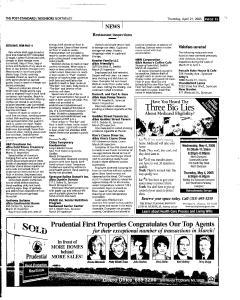 Syracuse Post Standard, April 21, 2005, Page 137