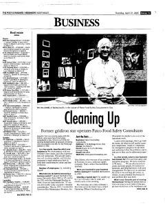 Syracuse Post Standard, April 21, 2005, Page 139