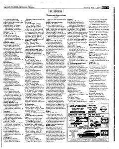 Syracuse Post Standard, April 21, 2005, Page 385