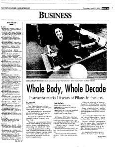 Syracuse Post Standard, April 21, 2005, Page 101