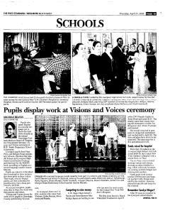 Syracuse Post Standard, April 21, 2005, Page 181