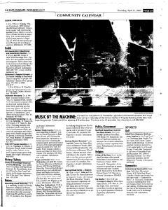 Syracuse Post Standard, April 21, 2005, Page 259