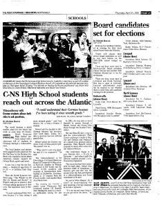 Syracuse Post Standard, April 21, 2005, Page 183