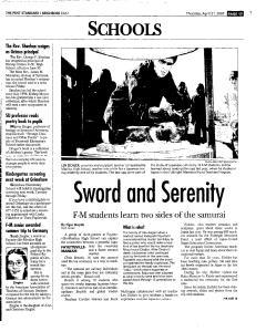 Syracuse Post Standard, April 21, 2005, Page 103