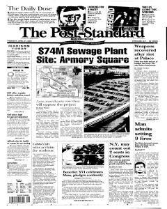 Syracuse Post Standard, April 21, 2005, Page 289