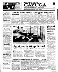 Syracuse Post Standard, April 22, 2005, Page 67