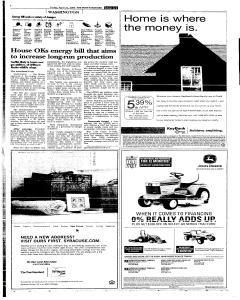 Syracuse Post Standard, April 22, 2005, Page 99