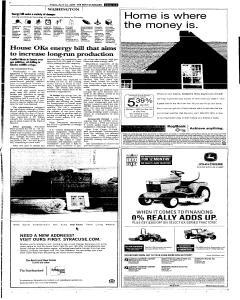 Syracuse Post Standard, April 22, 2005, Page 81