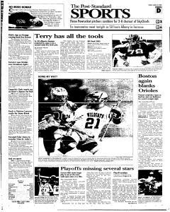 Syracuse Post Standard, April 22, 2005, Page 23