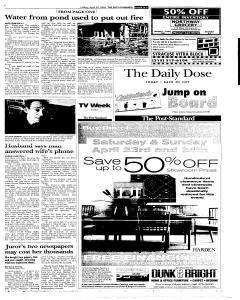 Syracuse Post Standard, April 22, 2005, Page 61