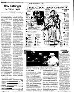 Syracuse Post Standard, April 24, 2005, Page 6