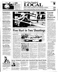 Syracuse Post Standard, April 24, 2005, Page 21