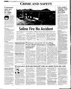 Syracuse Post Standard, April 29, 2005, Page 94