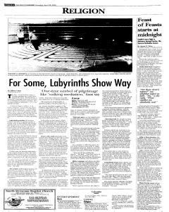 Syracuse Post Standard, April 30, 2005, Page 18
