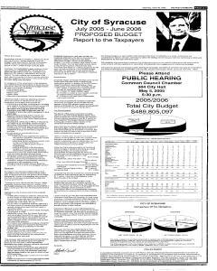 Syracuse Post Standard, April 30, 2005, Page 7