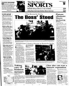 Syracuse Post Standard, May 04, 2005, Page 25