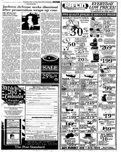 Syracuse Post Standard, May 05, 2005, Page 8