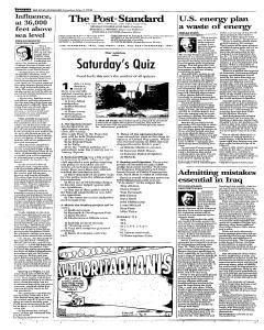 Syracuse Post Standard, May 07, 2005, Page 100