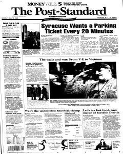 Syracuse Post Standard, May 09, 2005, Page 74