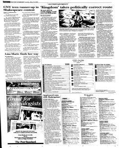 Syracuse Post Standard, May 10, 2005, Page 34