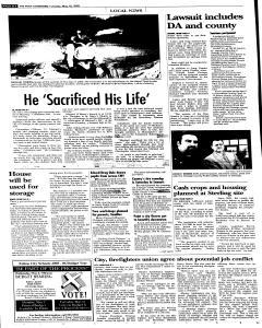 Syracuse Post Standard, May 10, 2005, Page 98