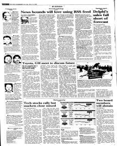 Syracuse Post Standard, May 14, 2005, Page 20