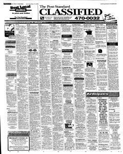 Syracuse Post Standard, May 14, 2005, Page 36