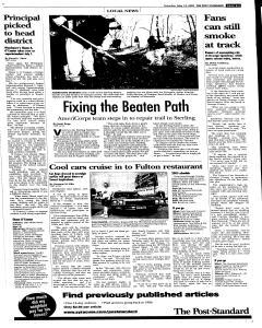 Syracuse Post Standard, May 14, 2005, Page 86