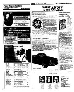 Syracuse Post Standard, May 16, 2005, Page 44