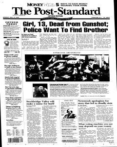 Syracuse Post Standard, May 16, 2005, Page 58