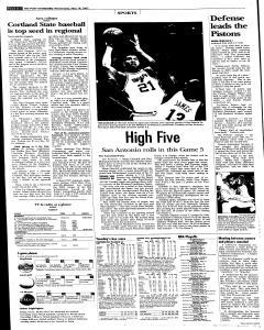 Syracuse Post Standard, May 18, 2005, Page 26