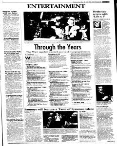 Syracuse Post Standard, May 18, 2005, Page 39