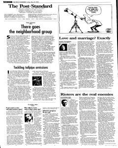 Syracuse Post Standard, May 20, 2005, Page 66