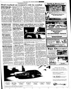 Syracuse Post Standard, May 20, 2005, Page 11
