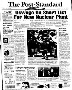 Syracuse Post Standard, May 20, 2005, Page 55