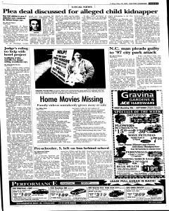 Syracuse Post Standard, May 20, 2005, Page 111