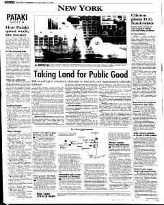 Syracuse Post Standard, May 21, 2005, Page 6