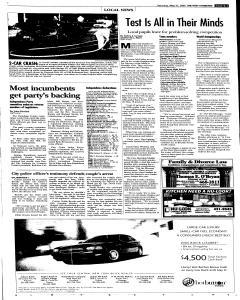 Syracuse Post Standard, May 21, 2005, Page 13