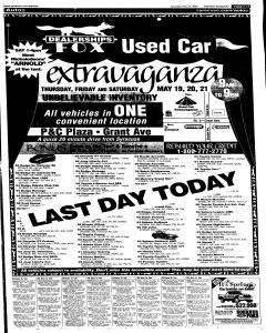 Syracuse Post Standard, May 21, 2005, Page 54