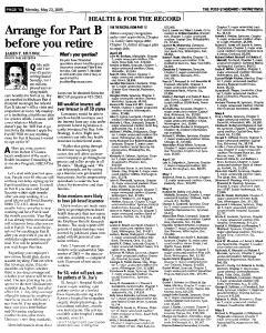 Syracuse Post Standard, May 23, 2005, Page 117