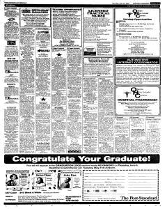 Syracuse Post Standard, May 23, 2005, Page 85