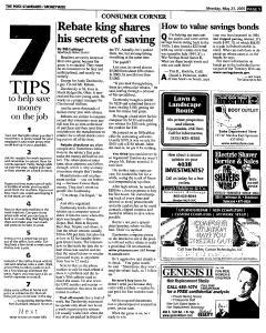 Syracuse Post Standard, May 23, 2005, Page 97