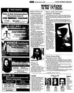 Syracuse Post Standard, May 23, 2005, Page 92
