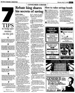 Syracuse Post Standard, May 23, 2005, Page 98