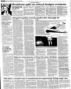 Syracuse Post Standard, May 24, 2005, Page 28