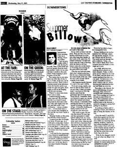 Syracuse Post Standard, May 25, 2005, Page 66