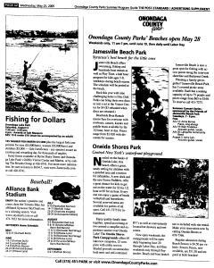 Syracuse Post Standard, May 25, 2005, Page 105