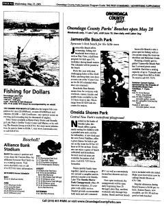 Syracuse Post Standard, May 25, 2005, Page 184
